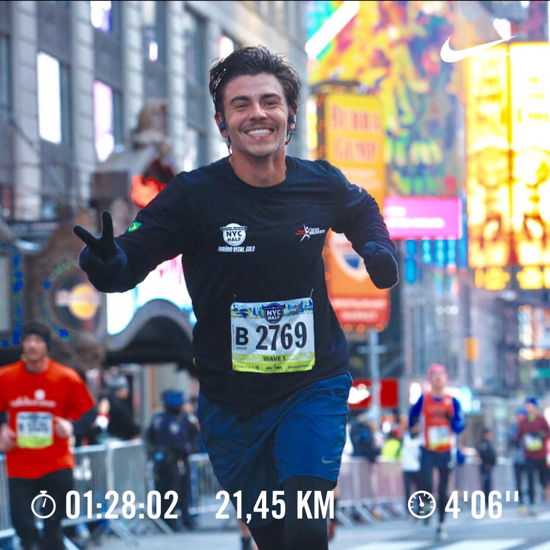 Meia Maratona de NY-Março/17. Rogério Bernardo.